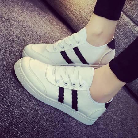RA2016新款低帮小白鞋帆布鞋女韩版休闲学生布鞋平底板鞋女鞋潮