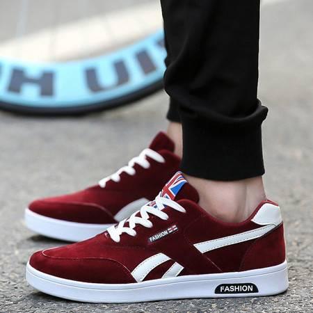 HD新款男鞋 韩版时尚潮流运动鞋男士透气帆布鞋休闲板鞋