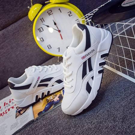 KH新款韩版运动鞋女跑步小白鞋女平底旅游休闲鞋女学生板鞋A008