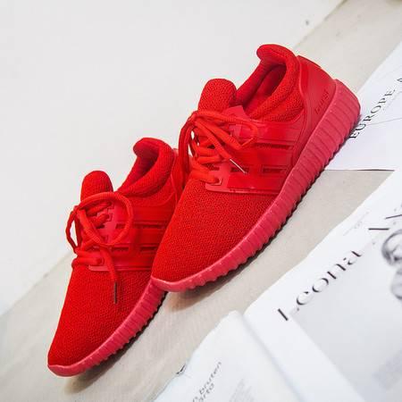 KH新款韩版平底运动鞋透气小红鞋学生休闲鞋跑步女鞋S05