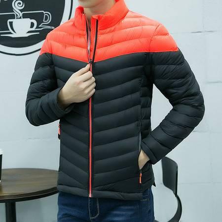 BL秋冬新品韩版男式加厚保暖棉衣男装男士羽绒棉服冬季外套