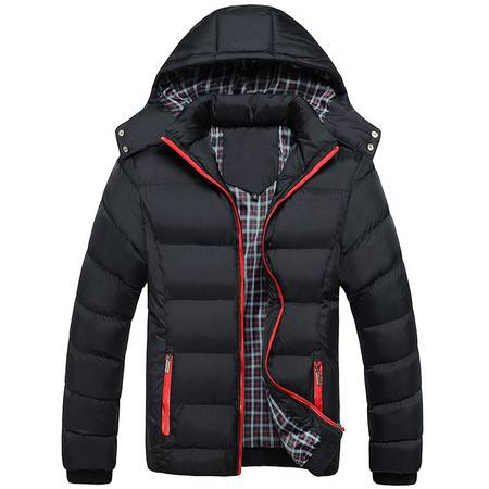 BL冬季运动棉衣男士加厚羽绒棉袄男式连帽保暖棉服外套冬装潮流袄子