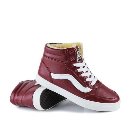 CR秋冬高邦男士休闲韩版板鞋棉鞋 滑板街舞青少秋冬款学生嘻哈鞋