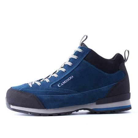 美骆世家秋冬新款登山鞋 男鞋高帮徒步鞋中帮保暖户外鞋 加绒棉鞋