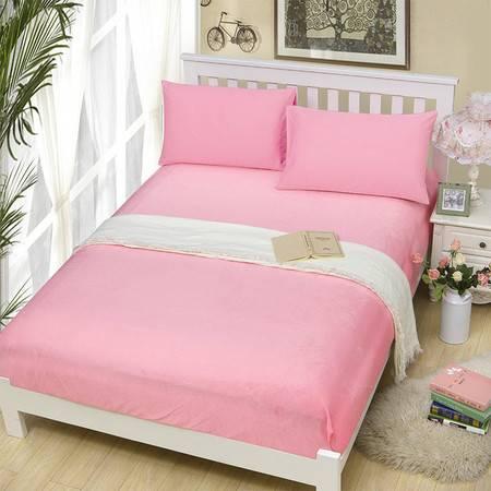 纯色绒保暖床笠 加厚 柔亲肤 舒适不掉毛1.2米床