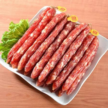 旗峰腊味东莞特产广式偏甜腊肠 特级腊肠500g袋装