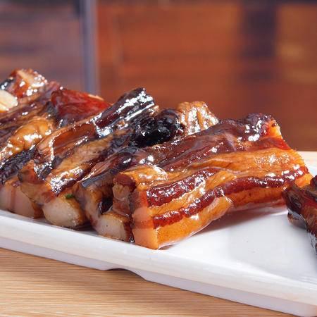 广东东莞特产 旗峰咸味腊味五花腩肉 500g真空袋装精制腊肉