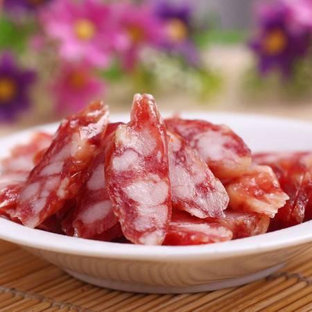 旗峰香肠 正宗广东东莞特产美食 口味适中优级广式腊肠500g礼盒装