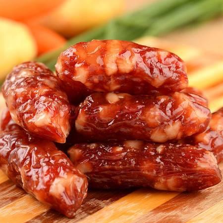 广东特产 旗峰腊肠 东莞传统特产广味腊肠 优级腊肠1000g礼盒装