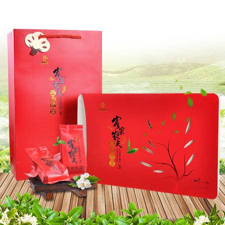 梅州客家特产 客家农夫富硒红茶品素方盒240g 2016新茶茶叶 特级