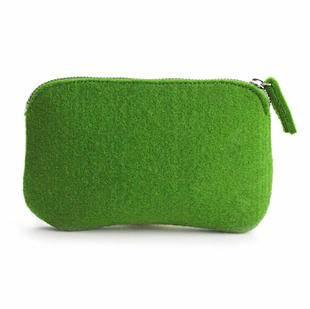 自然能量羊毛毡化妆收纳整理包日式良品简约基本生活无印风