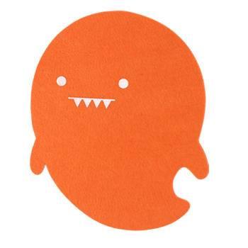 小精灵【特价包邮】台湾造创意毛毡鼠标垫MadeBe自然能量品牌正品