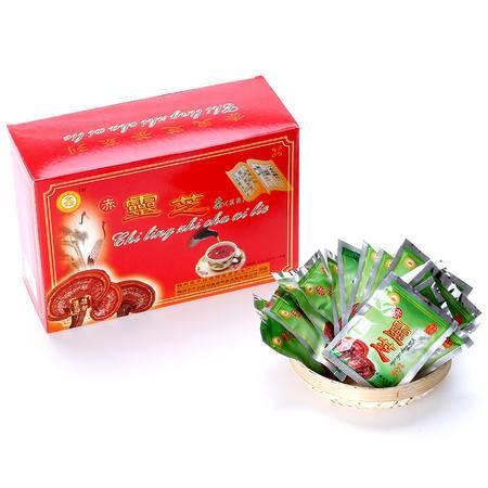 冠鑫 梅州平远客家特产 冠鑫2.2gX40包 赤灵芝茶 芝袋泡茶灵芝粉灵芝茶