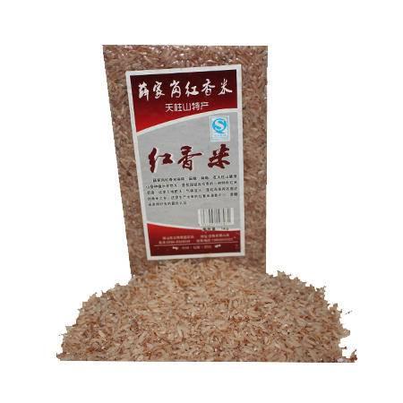 皖五福 糙米红米天柱山特产