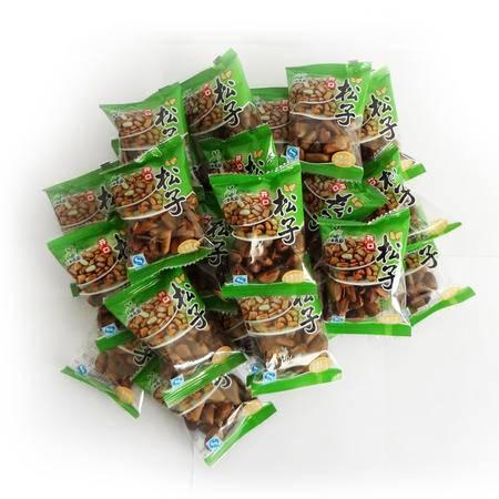 东北红松子非油炸原味开口松子500g散装称重小袋独立包装手剥松子