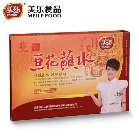 美乐豆花蘸水400g正品富顺特产辣椒酱送礼拌菜面佐餐火锅蘸料礼盒