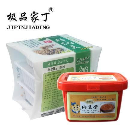 极品家丁鲜纳豆3盒和酱1盒 纳豆日本养生组合