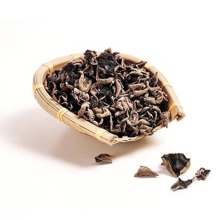【宜昌馆】犁楚 神农架特产 天然椴木黑木耳小碗儿干货 300g