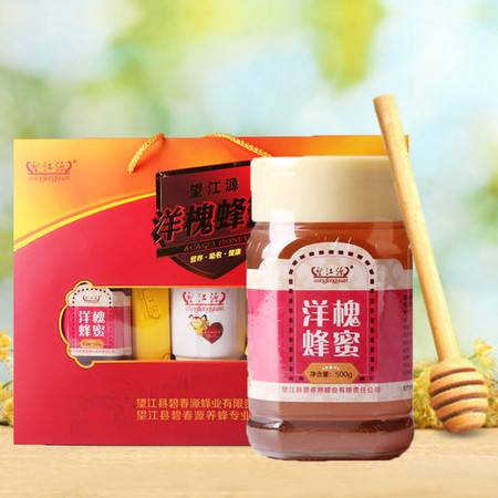 望江源 望江特产洋槐蜂蜜 500g*2瓶 优惠组合装
