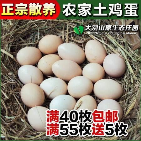农家散养土鸡蛋笨鸡蛋柴鸡蛋放养土鸡蛋生态鸡蛋泉水蛋滋补 新鲜
