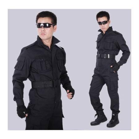 保安服冬装 长袖作训服安保训练服酒店物业保安工作服套装