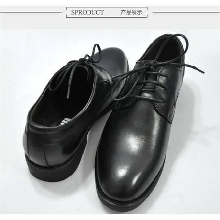 3513巡洋舰名士商务休闲男士皮鞋套脚时尚系带8661