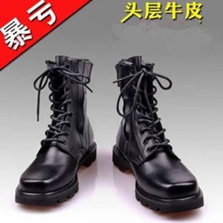 3515强人正品军靴 男靴 男鞋 男式春秋单款特种兵军勾户外靴中筒靴工装靴军鞋