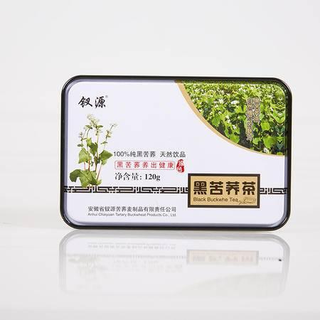 钗源  100%纯黑苦荞茶 120g