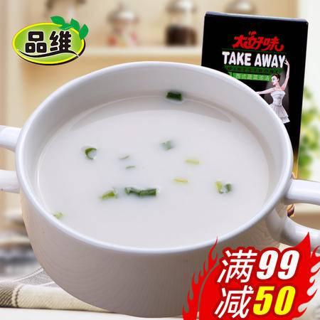 品维 代餐粉果蔬纤维西式速食蔬菜土豆蘑菇汤太好味80g盒