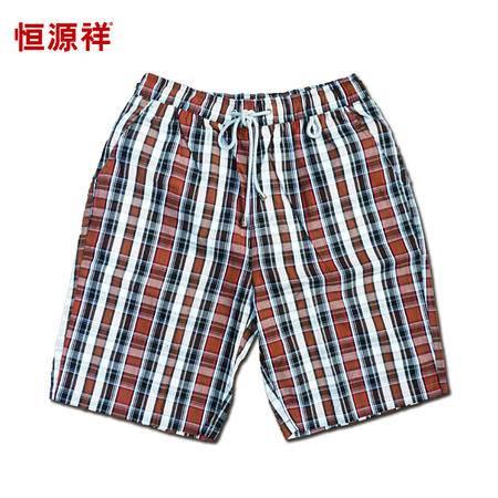 恒源祥男士休闲宽松纯棉沙滩短裤 ECD0694