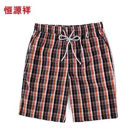 恒源祥男士休闲宽松纯棉沙滩短裤 ECD0693