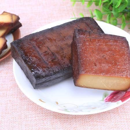 贵州铜仁特产 沿河土家 柴火 烟熏烤 干豆腐干美食450g 包邮
