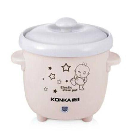 康佳(KONKA)迷你白瓷宝宝煲粥煲汤炖锅DG6208