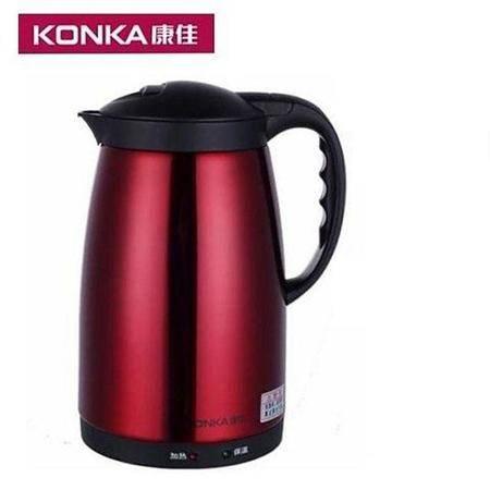 康佳(KONKA)宏源壶不锈钢 电水壶 防干烧KGBL-188