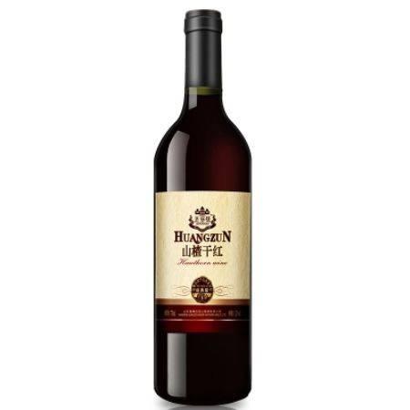 【皖南300村馆】圣登堡山楂干红敞口山楂红酒青州特产干型果酒山楂酒750ml
