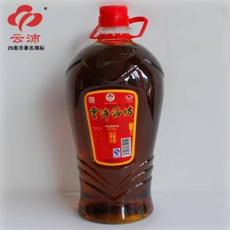 【皖南300村馆】云沛青阳正宗传统工艺自榨100%非转基因菜籽油4.3L
