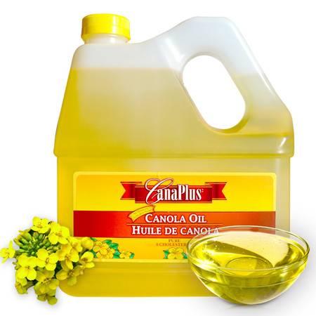 卡普拉斯 Canaplus芥花籽油加拿大进口 菜籽油 非转基因 压榨月子食用油 3l