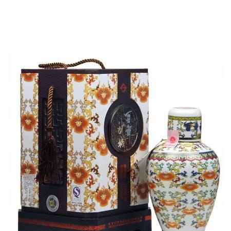 沙城 瓷花百年沙城 瓷瓶 1106