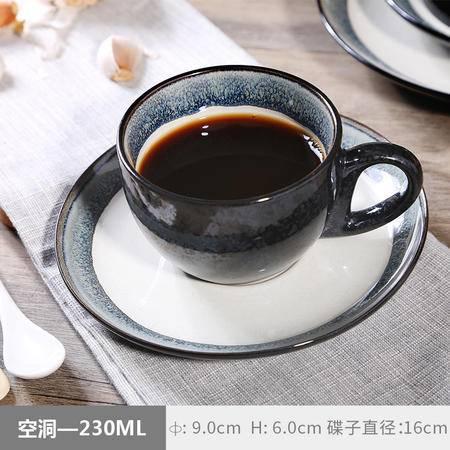醴陵郁金香拉花式卡布奇诺 欧式专业咖啡厅咖啡杯碟套装陶瓷杯子