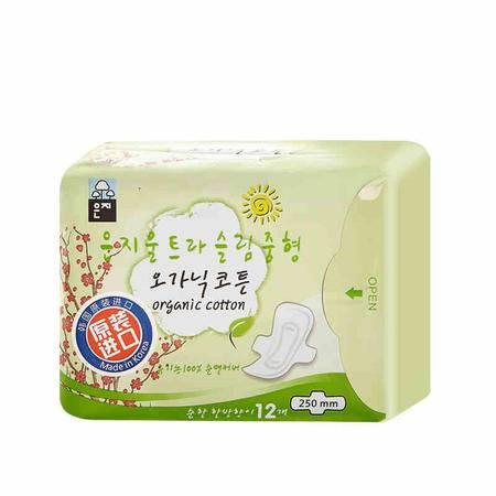 【洋货促销】恩芝超薄日用卫生巾250mm*12P  2包