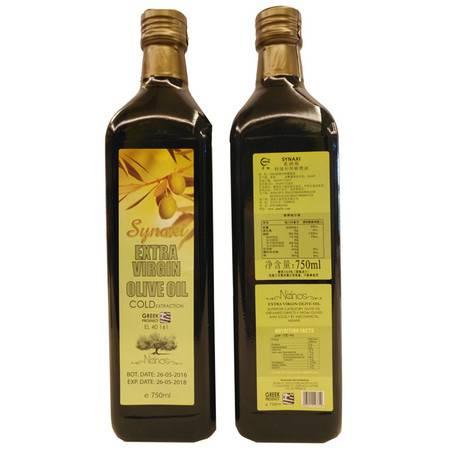希纳斯特级初榨橄榄油 750ml*6瓶装