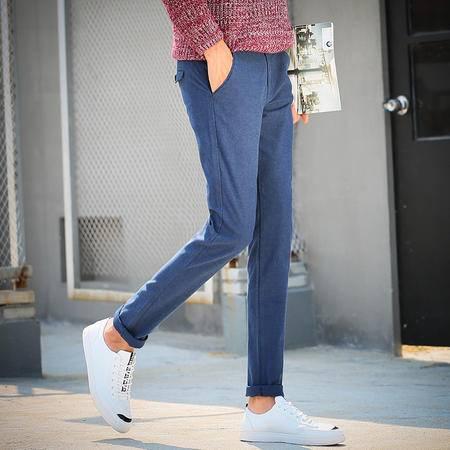 华度威 2016秋季上新品休闲裤男束脚裤微修身小脚潮男韩版SLS9517