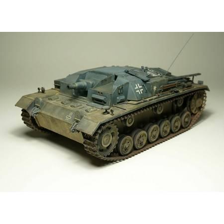 【指文模型】二战德军3号突击炮B型(免费定制铭牌内容)