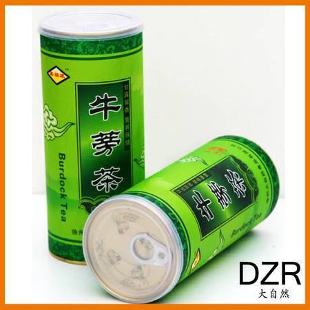 大自然 牛蒡茶圆罐