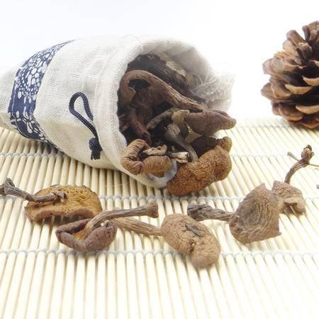 插树岭 野生榛蘑东北特产榛蘑长白山榛蘑菌菇干货200g袋装包邮