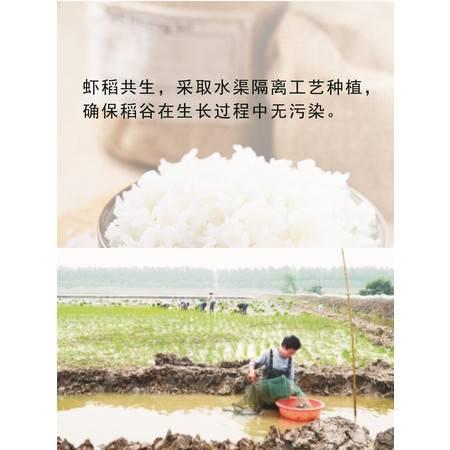 农佳汇2016虾稻有机稻米  新米10斤省内包邮