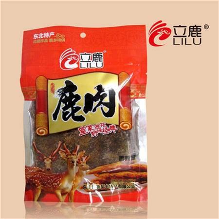 立鹿 鹿肉干(香辣)80g*2袋包邮