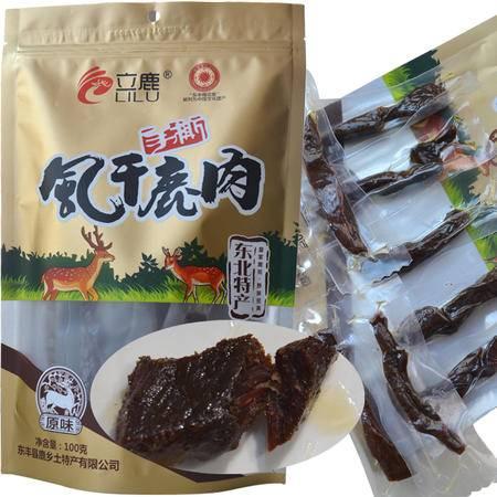 【四平馆】立鹿 风干鹿肉 100g