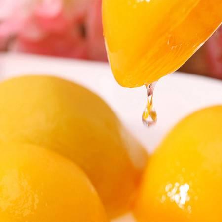 【潜江】吉爽新鲜优质糖水黄桃水果罐头对开425g*12罐装