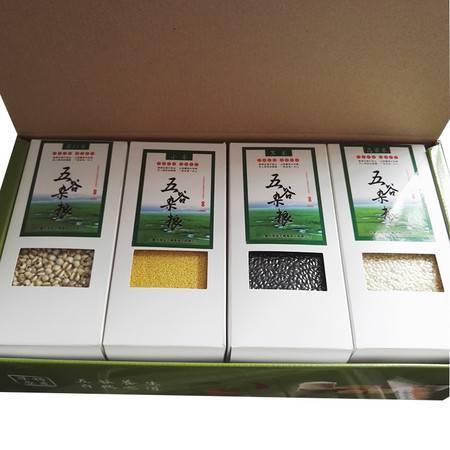 蕴奇绿丰 米类杂粮组合 8x400g 精装礼盒 内蒙古草原旅游专供礼盒 厂家直销